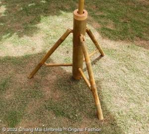 ขาตั้งร่ม ไม้ไผ่