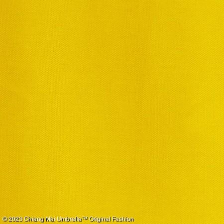 ร่มผ้าแพร สีเหลือง